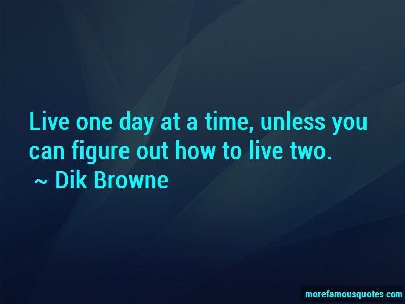 Dik Browne Quotes