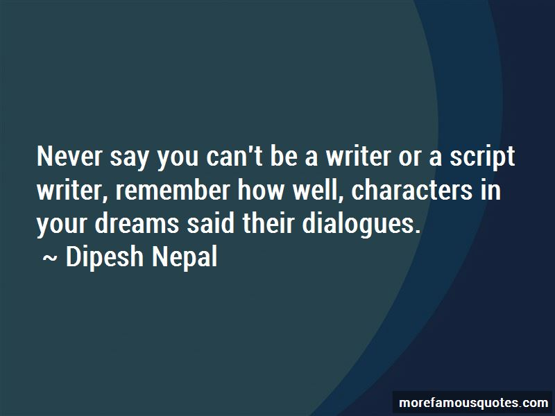 Dipesh Nepal Quotes Pictures 2