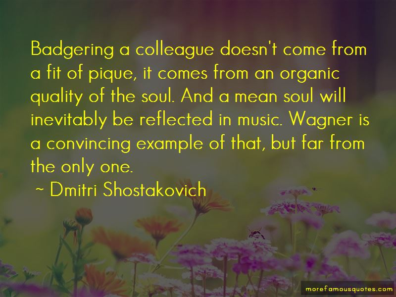 Dmitri Shostakovich Quotes