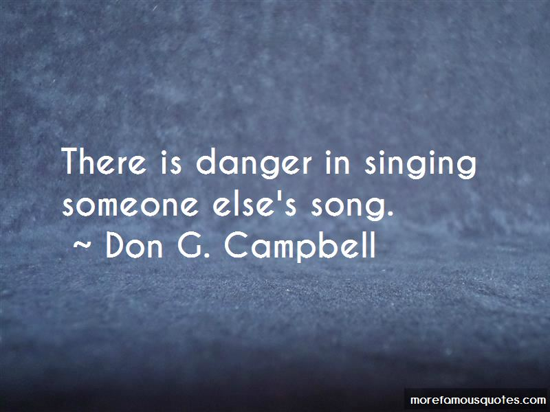 Don G. Campbell Quotes Pictures 3