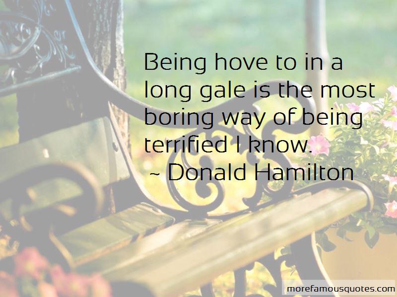 Donald Hamilton Quotes