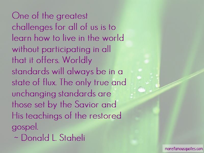 Donald L. Staheli Quotes Pictures 3
