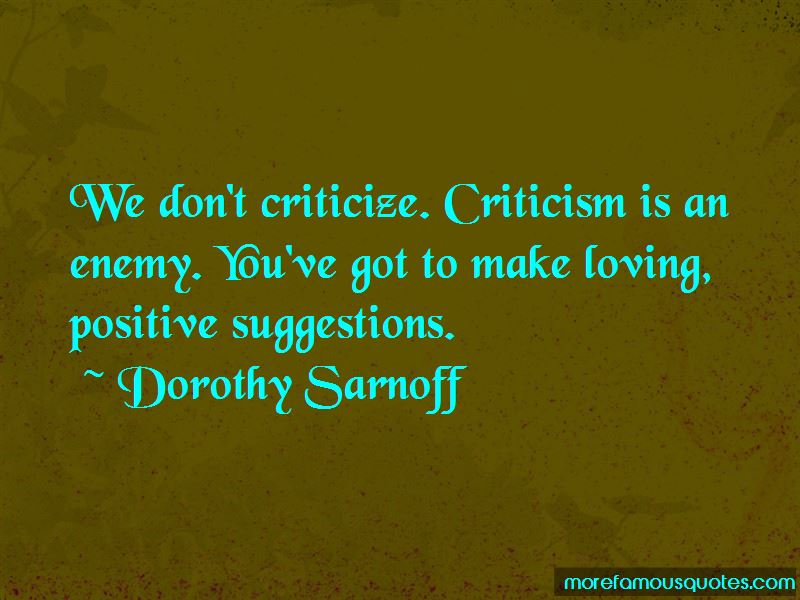 Dorothy Sarnoff Quotes Pictures 3
