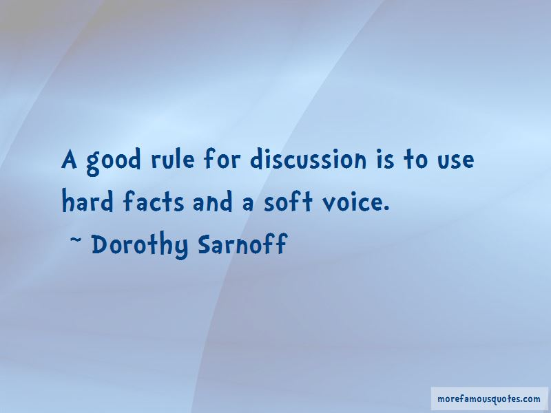 Dorothy Sarnoff Quotes Pictures 4