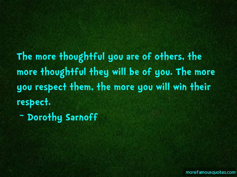 Dorothy Sarnoff Quotes