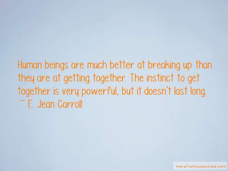 E. Jean Carroll Quotes Pictures 2