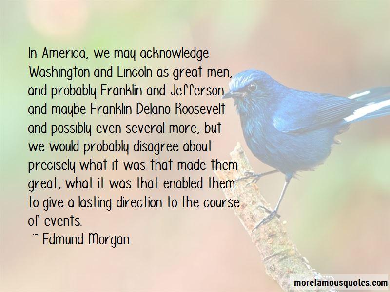 Edmund Morgan Quotes