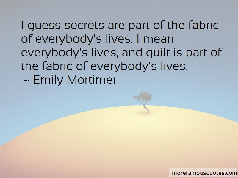 Emily Mortimer Quotes Pictures 2
