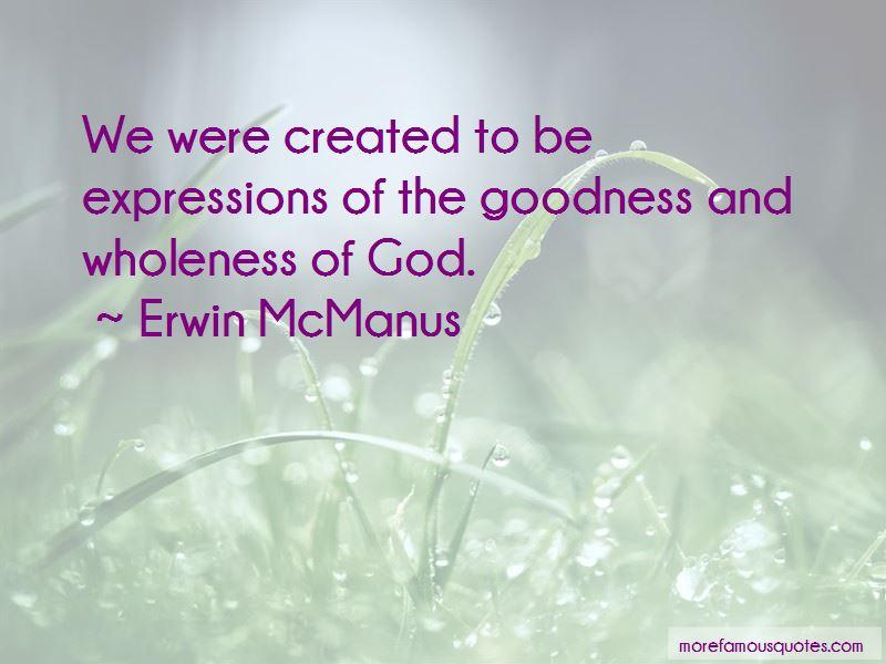 Erwin McManus Quotes