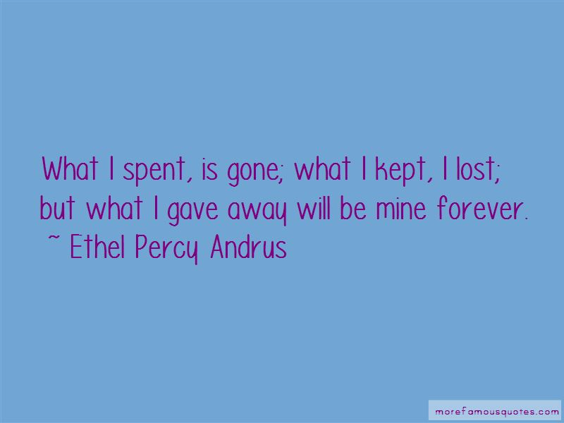 Ethel Percy Andrus Quotes Pictures 2