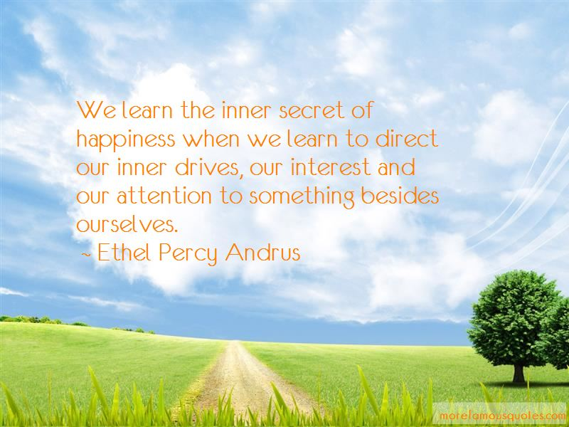 Ethel Percy Andrus Quotes