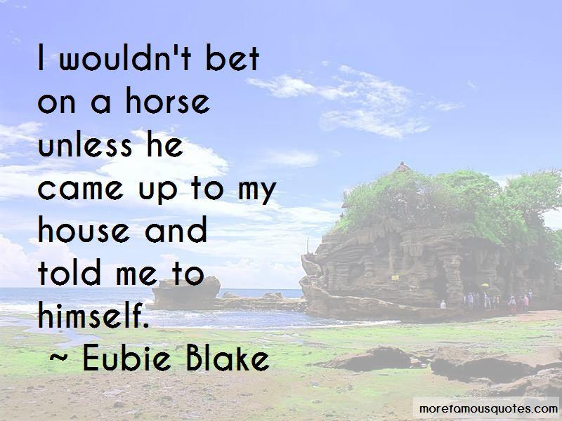 Eubie Blake Quotes Pictures 4
