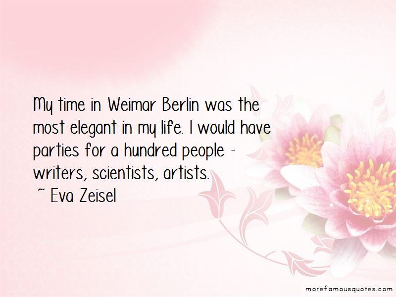 Eva Zeisel Quotes Pictures 4