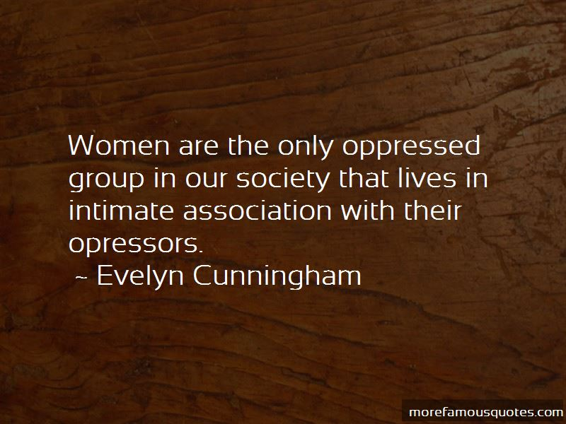 Evelyn Cunningham Quotes