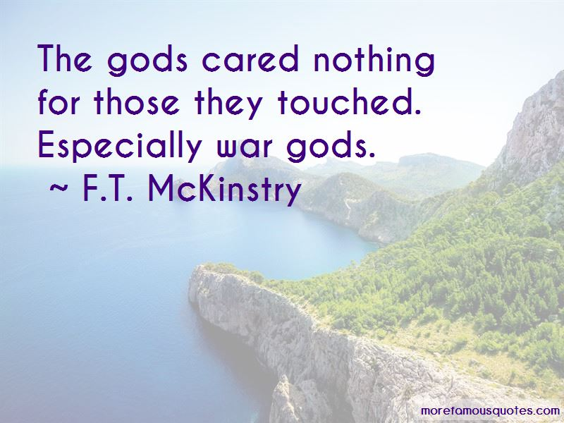 F.T. McKinstry Quotes Pictures 2