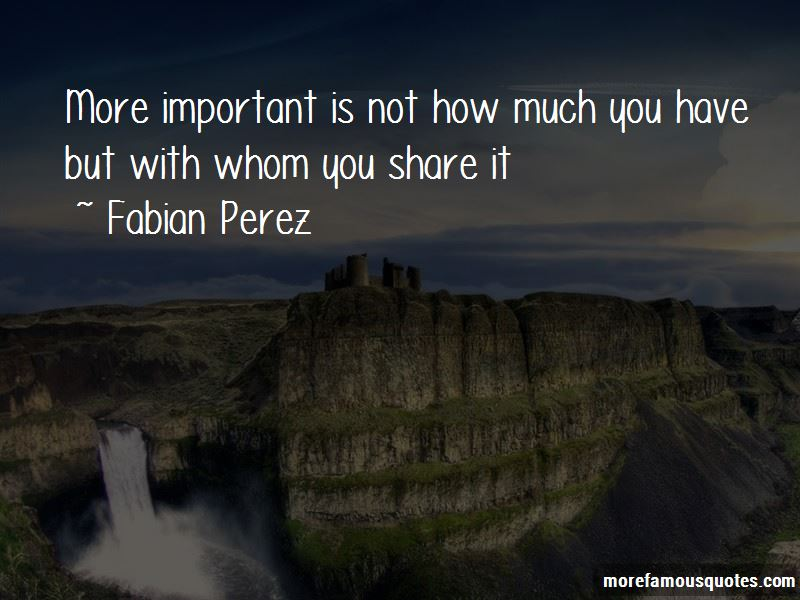 Fabian Perez Quotes