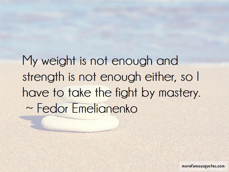 Fedor Emelianenko Quotes Pictures 2