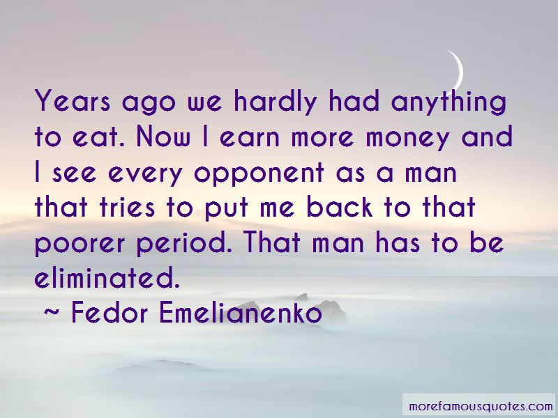 Fedor Emelianenko Quotes