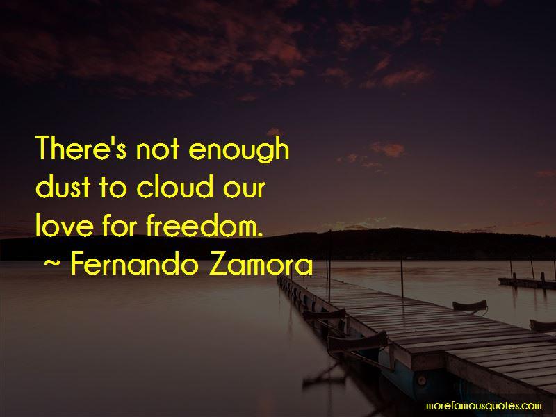 Fernando Zamora Quotes