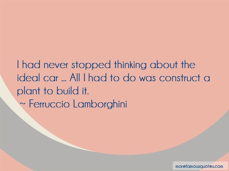 Ferruccio Lamborghini Quotes Pictures 3