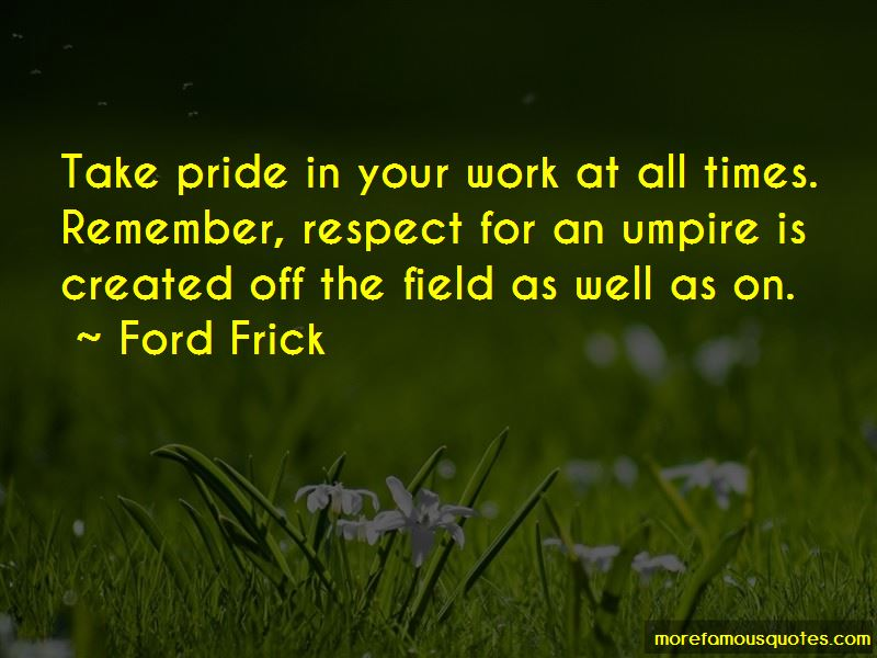 Ford Frick Quotes Pictures 2