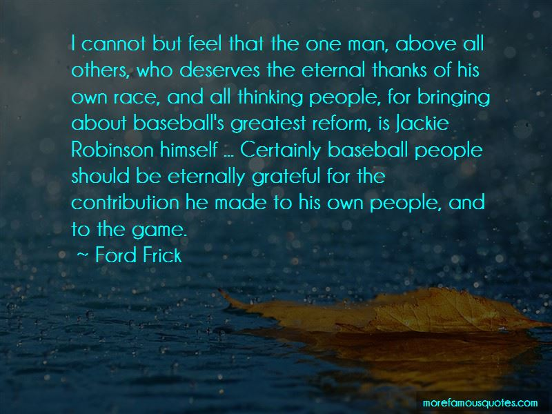 Ford Frick Quotes Pictures 3
