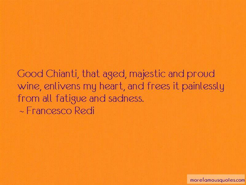 Francesco Redi Quotes