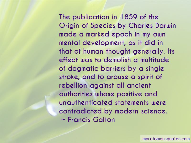 Francis Galton Quotes Pictures 2
