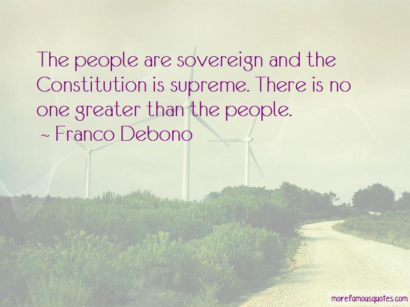 Franco Debono Quotes