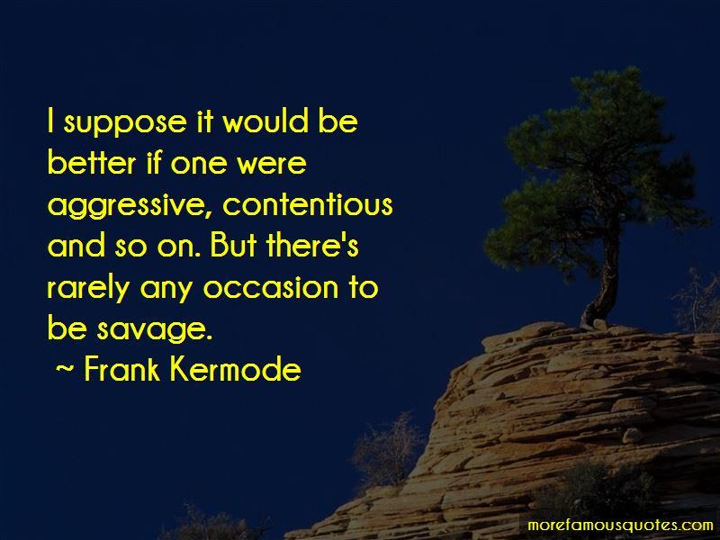 Frank Kermode Quotes