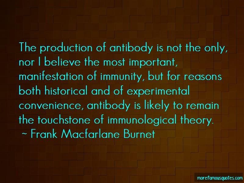 Frank Macfarlane Burnet Quotes Pictures 4