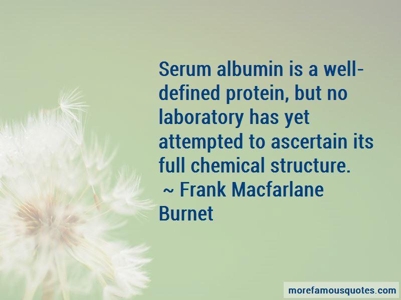 Frank Macfarlane Burnet Quotes