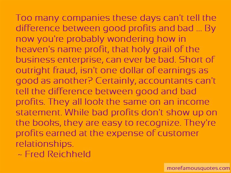 Fred Reichheld Quotes