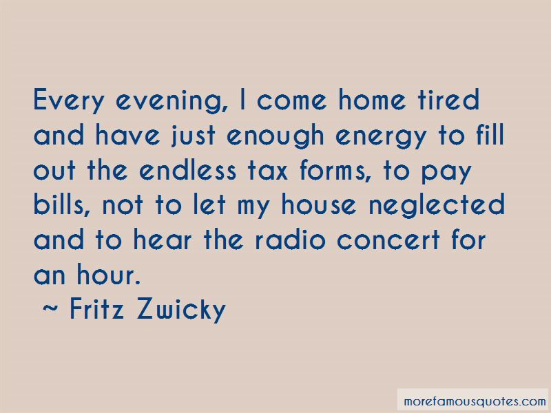 Fritz Zwicky Quotes