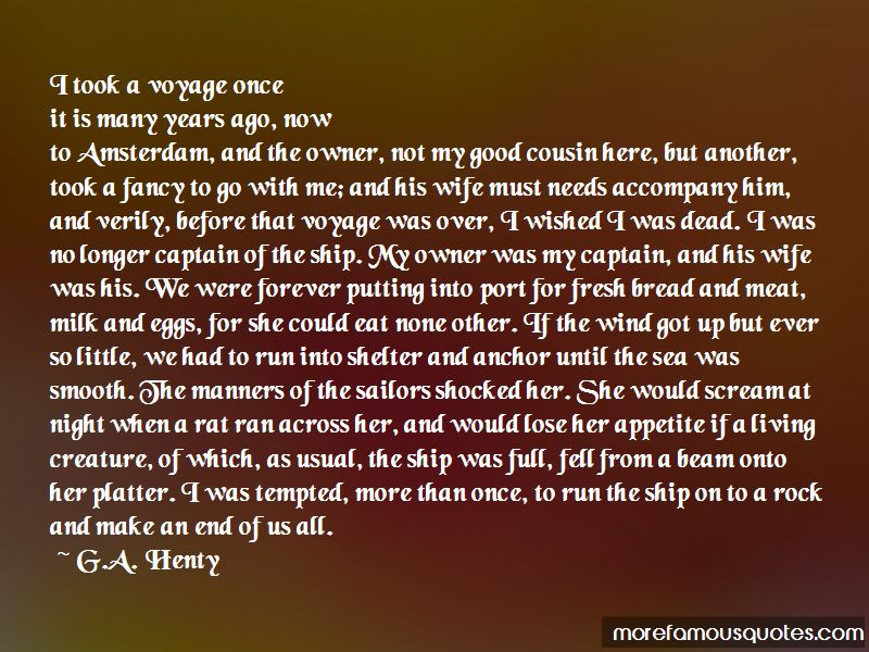 G.A. Henty Quotes Pictures 4