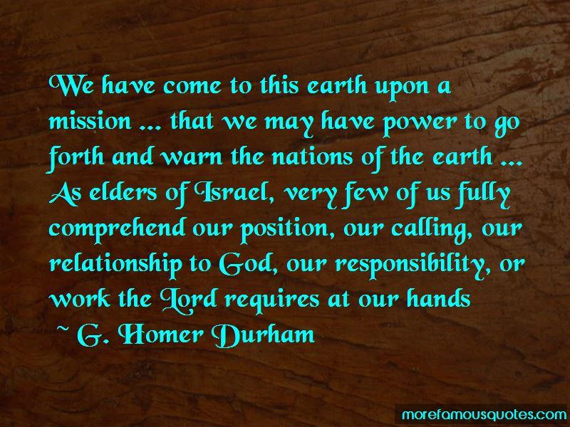 G. Homer Durham Quotes