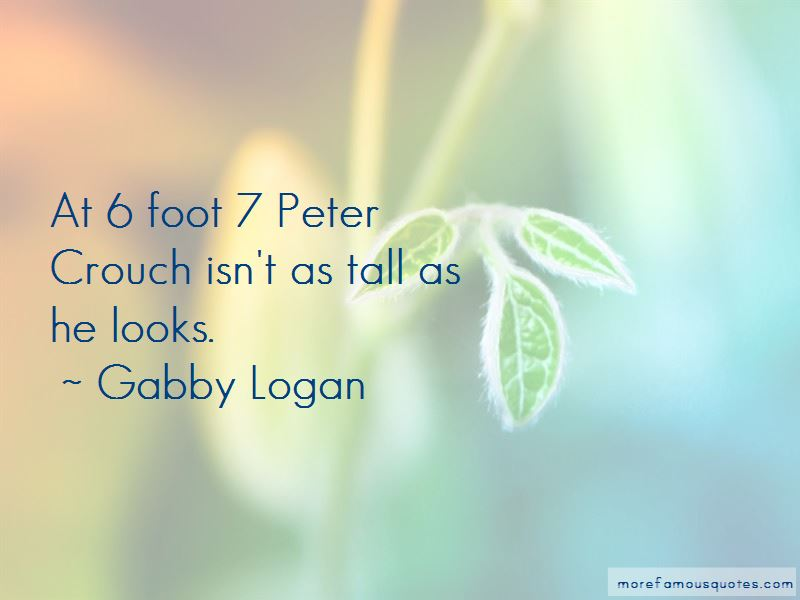 Gabby Logan Quotes Pictures 2