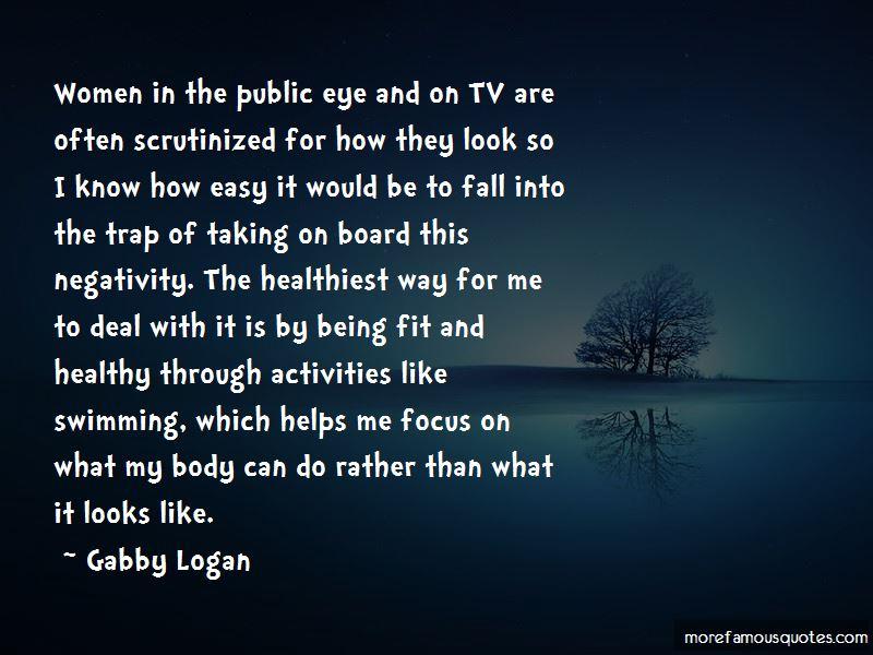 Gabby Logan Quotes