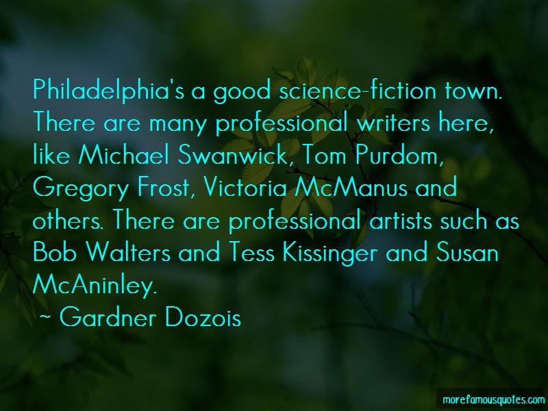Gardner Dozois Quotes Pictures 2