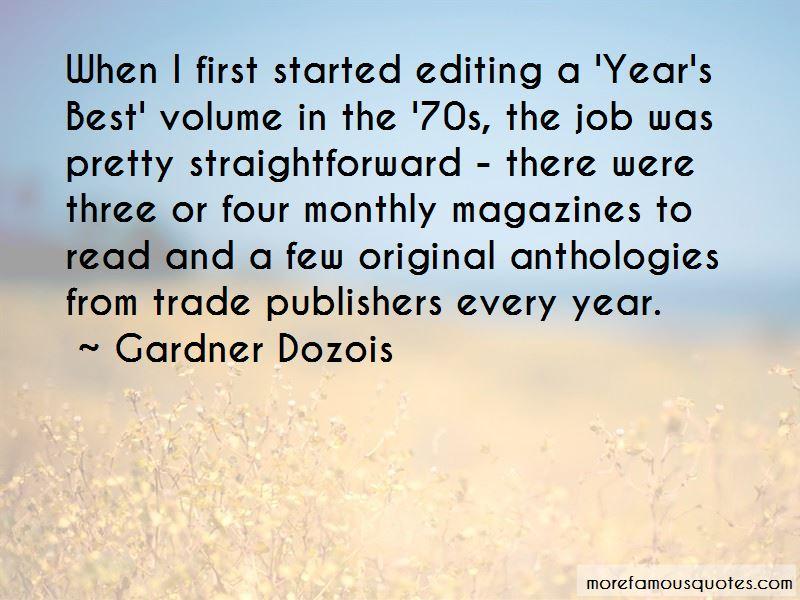 Gardner Dozois Quotes Pictures 4