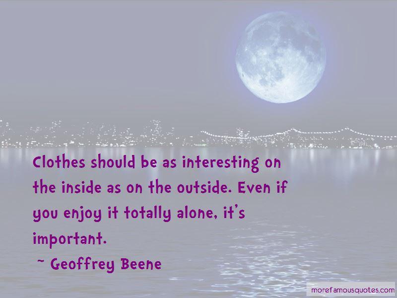 Geoffrey Beene Quotes Pictures 4
