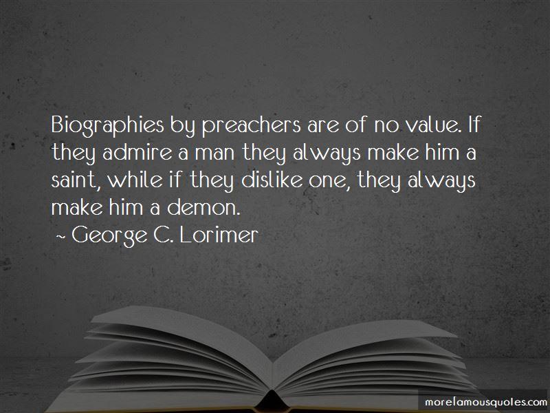 George C. Lorimer Quotes Pictures 4