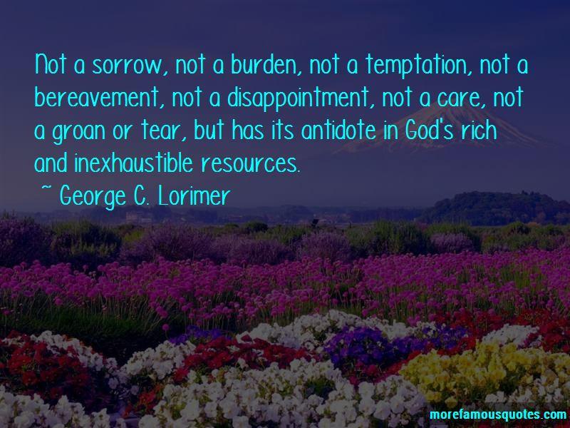 George C. Lorimer Quotes