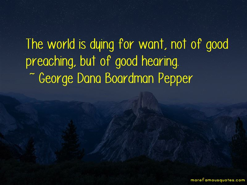 George Dana Boardman Pepper Quotes Pictures 2