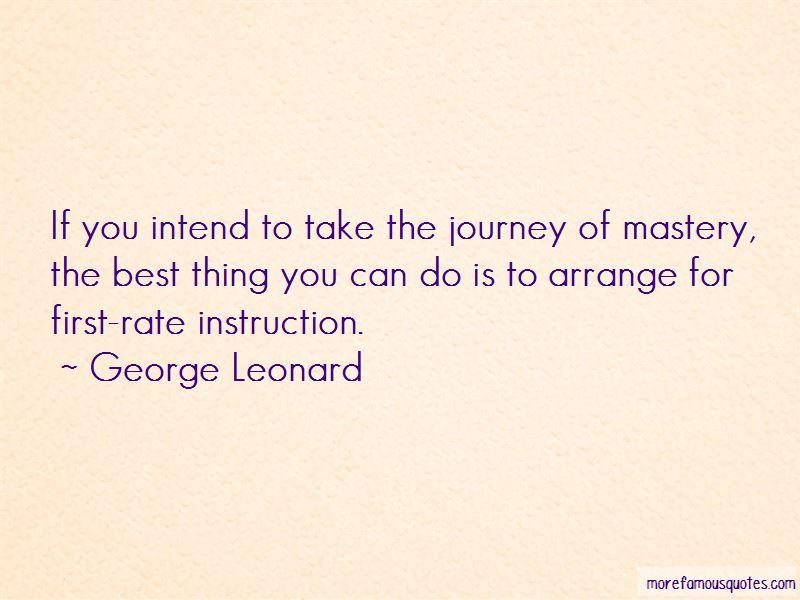 George Leonard Quotes Pictures 4