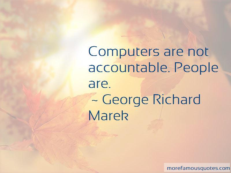 George Richard Marek Quotes Pictures 3