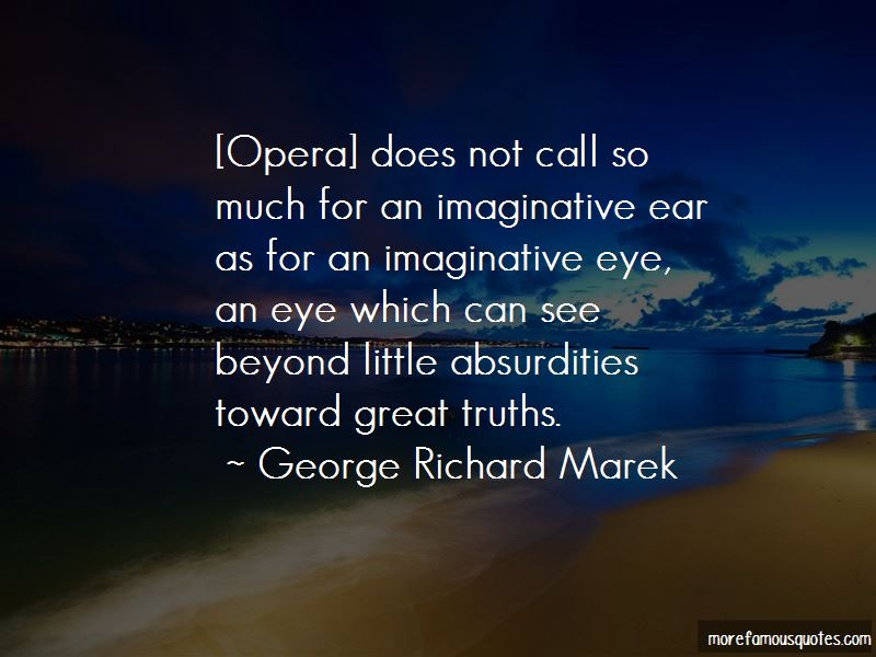 George Richard Marek Quotes