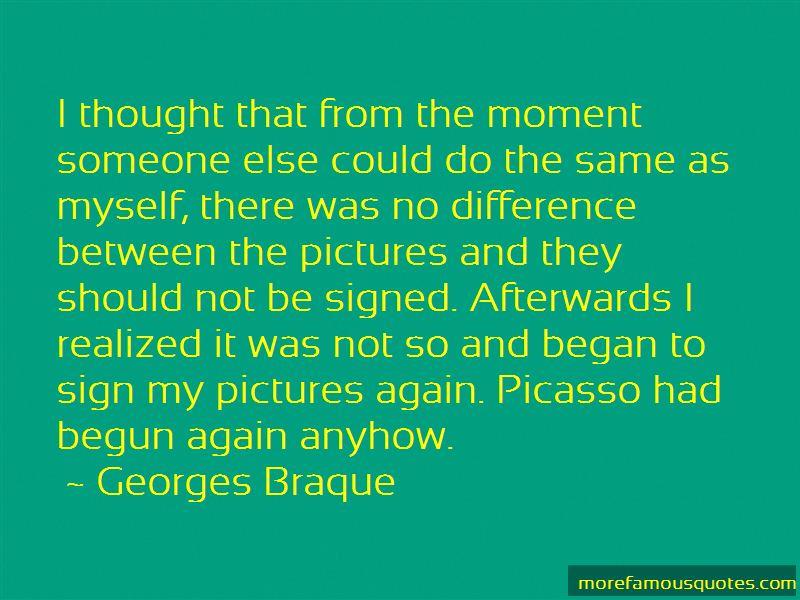 Georges Braque Quotes Pictures 2