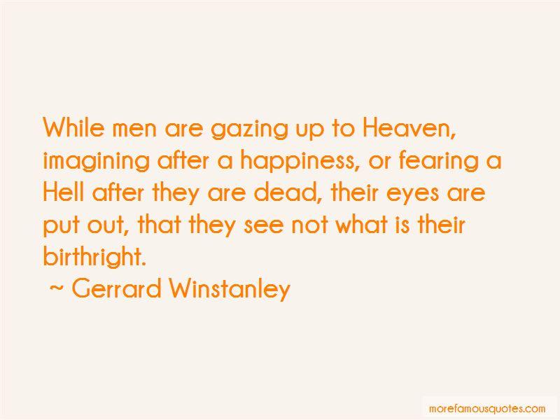 Gerrard Winstanley Quotes