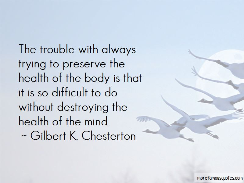 Gilbert K. Chesterton Quotes Pictures 3